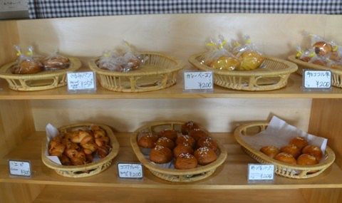 手作りパン売り場