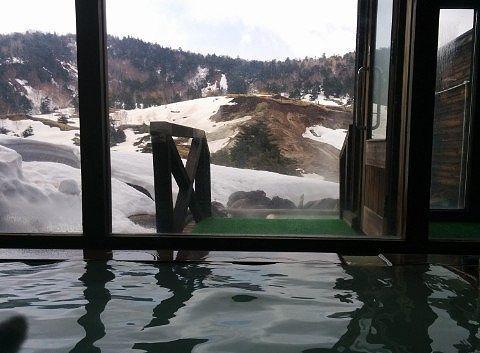 内湯からの景色