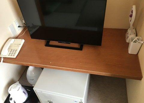 TVとセイフティボックス