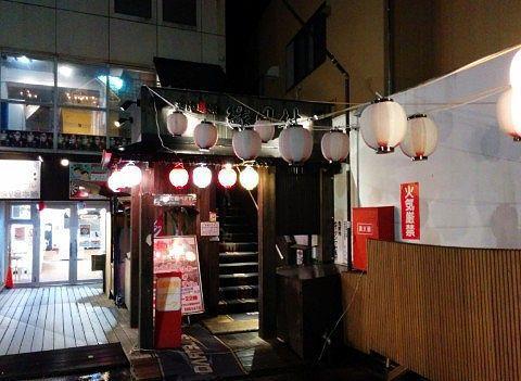 縁日村入口
