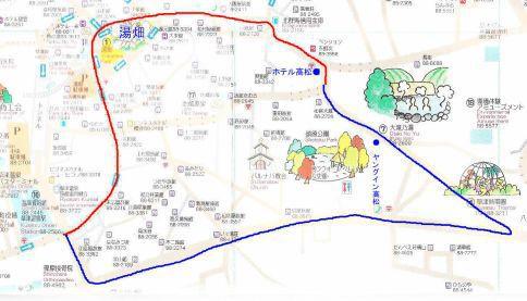 喜びの宿高松へのアクセスマップ