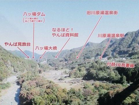 景色の説明パネル