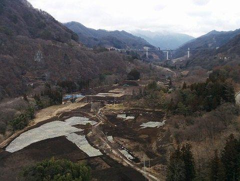 不動大橋からの景色