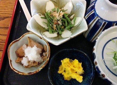 山菜などの小鉢