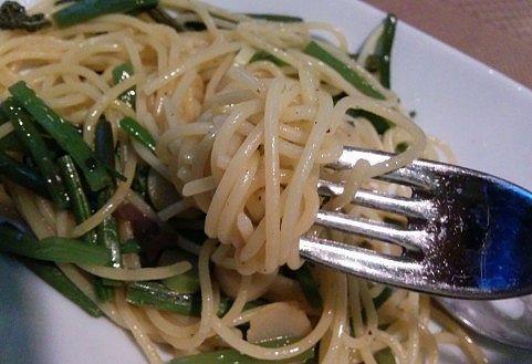 山菜スパゲティ