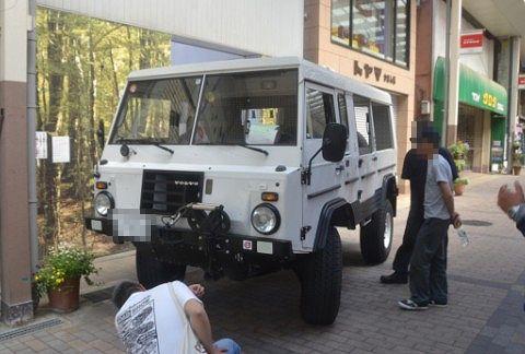 ボルボの4WD