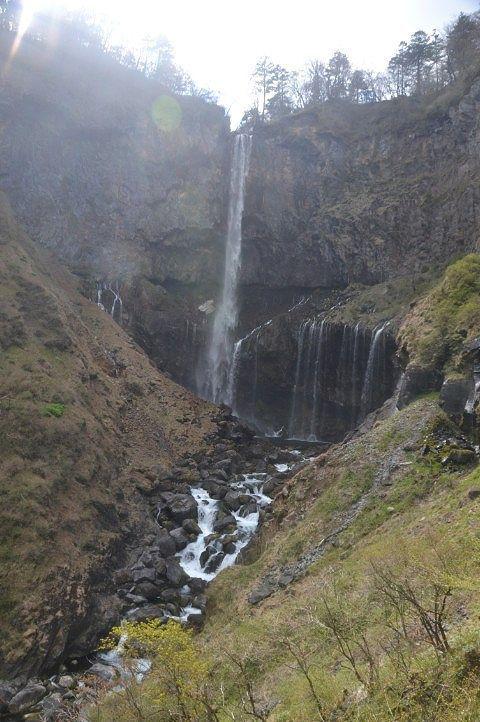華厳の滝と十二滝