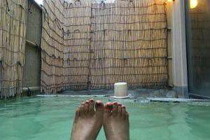 五識の湯露天風呂