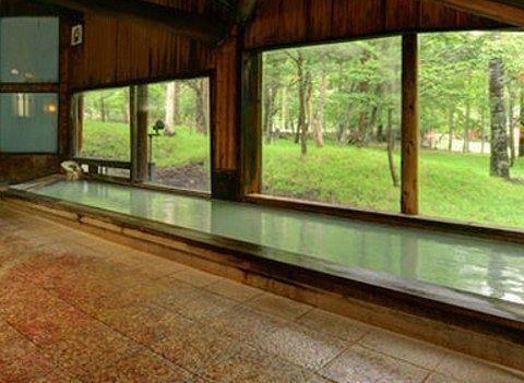 ほのかな宿樹林の大浴場