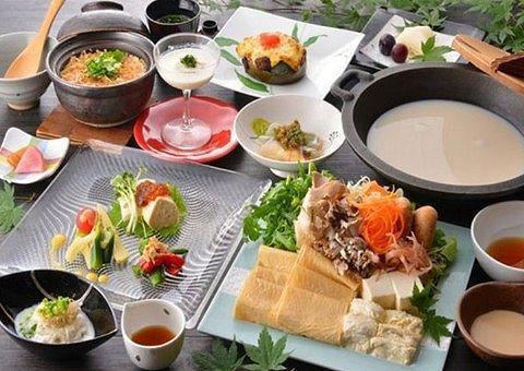 奥日光ゆの森の豆乳鍋