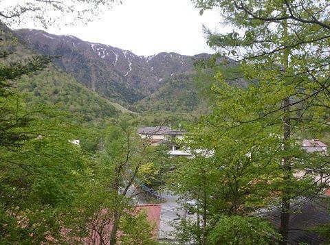 温泉神社から見た景色