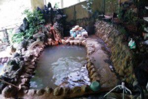 湯之沢館露天風呂
