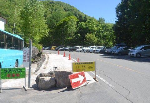 道路上の駐車スペース