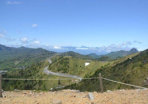 登山道横にあった景色の良かった鑑賞スポット