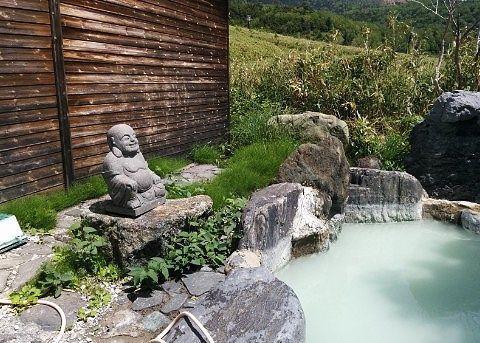 混浴露天風呂からの眺め