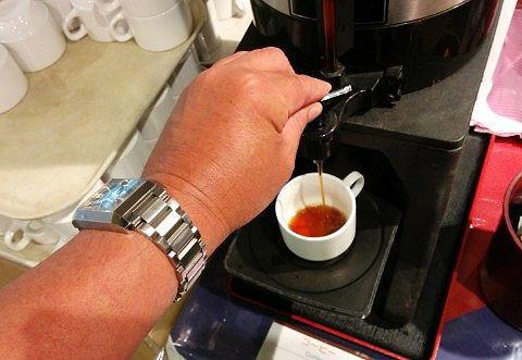 セルフのホットコーヒー
