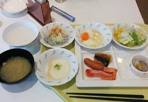 朝食の食事内容1