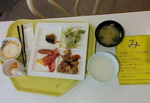 朝食の食事内容2