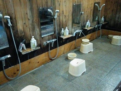 洗い場の様子