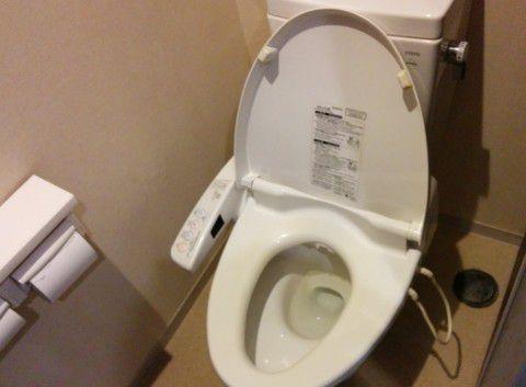 湯けむり館の共同トイレ