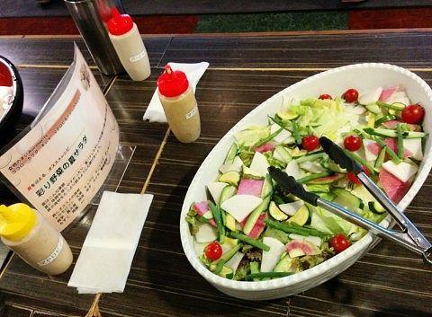 彩り野菜の夏サラダ