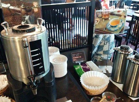 ホットコーヒー、紅茶