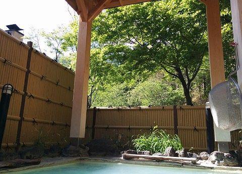 露天風呂から見える景色