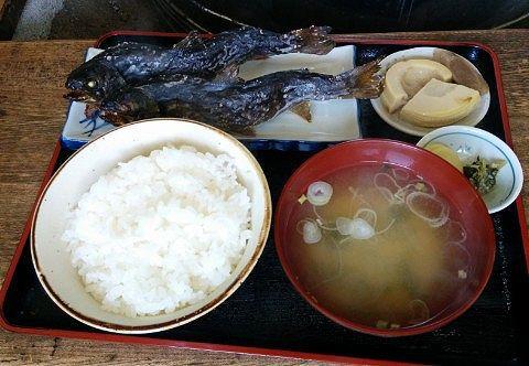 魚の塩焼き定食