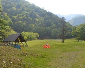 日光湯元キャンプ場の様子