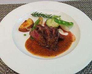 アメリカ産牛肉のグリル1