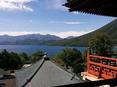 夏の五山堂からの眺め