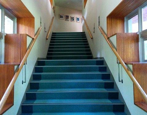 大浴場へ向かう階段