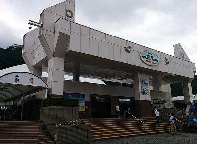 東武ワールドスクエアエントランス