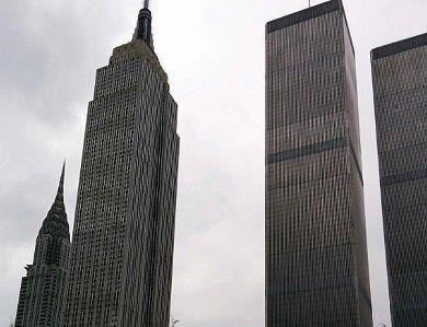 摩天楼のビル上部