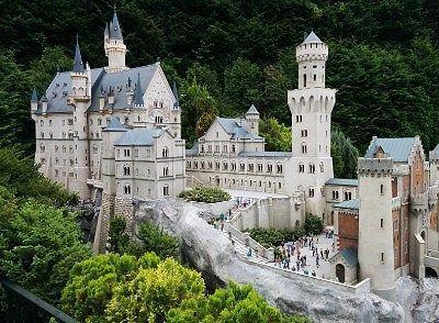 城のミニチュア