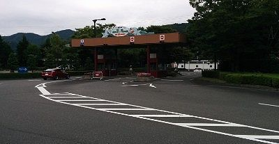 駐車場ゲート