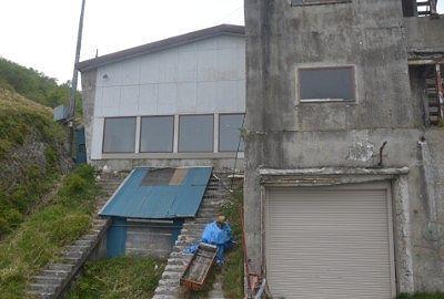 赤城山頂駅の名残