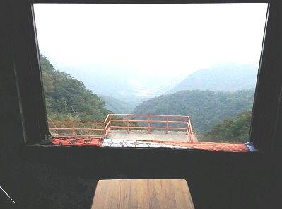 座敷席からの眺め