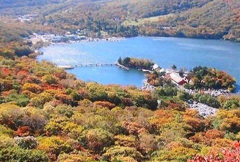 紅葉の赤城山