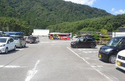 日光江戸村の駐車場