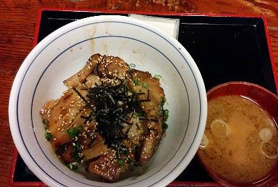 豚カルビ飯
