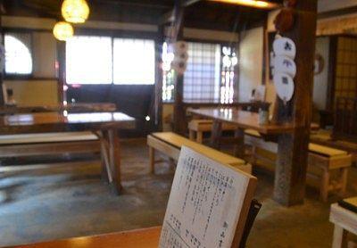 「日本そば藪」店内の様子