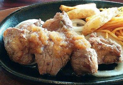 ワイルドカットステーキの肉の様子