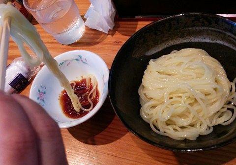 上州辛味大根のダイヤモンドつけ麺