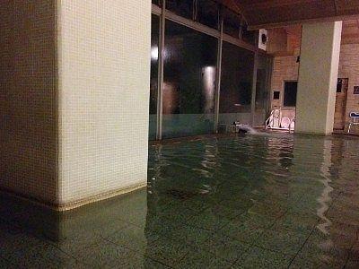 男性用大浴場の様子