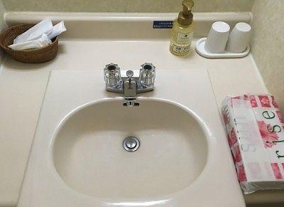 洗面台とアメニティ