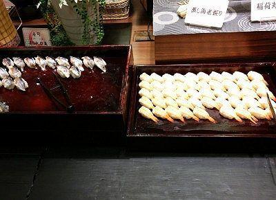 お寿司のバイキング