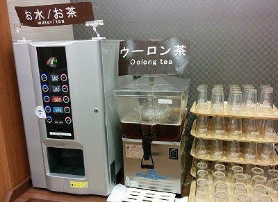 ウーロン茶や冷水機