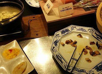 焼き魚、湯豆腐