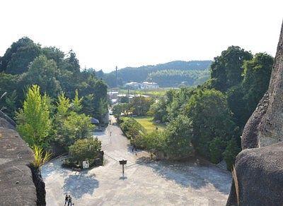 平和観音展望台から正面の眺め